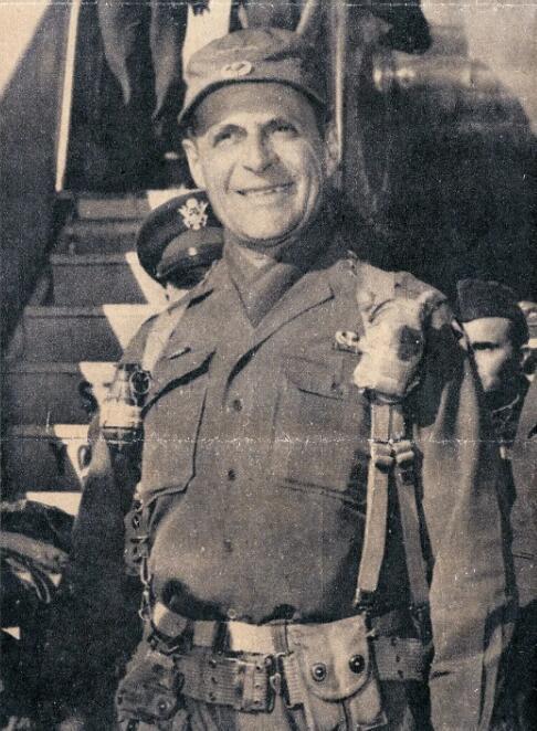 上图_ 马修·邦克·李奇微,美国陆军上将(1895年3月3日—1993年7月26日)