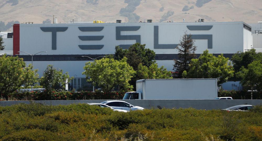 美国加州的特斯拉工厂 图自路透社