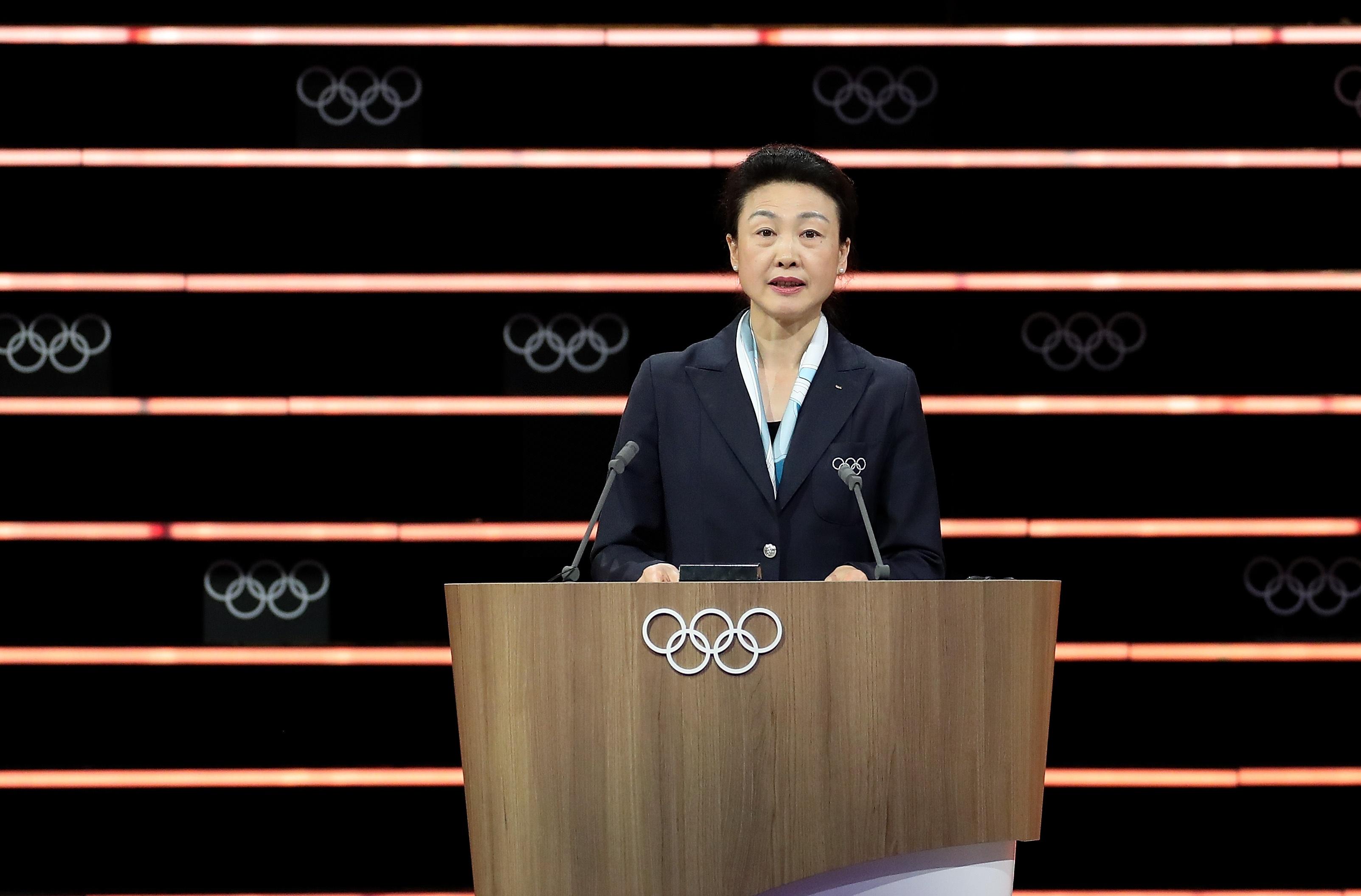 资料图:国际奥委会委员李玲蔚。新华社记者曹灿摄