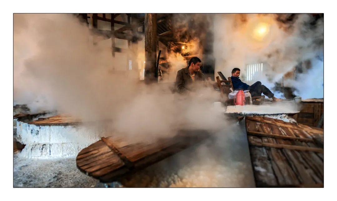 △盐的过去也是一代自贡人的历史记忆/图虫创意
