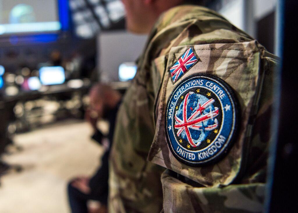 英国军队目前的太空作战中心资料图
