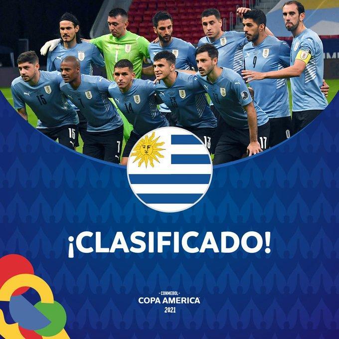 烏拉圭2-0擊敗玻利維亞提前出線 卡瓦尼破門對手送烏龍