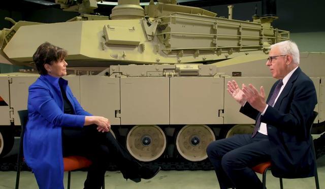 通用動力女CEO:沒有我們 美國就無法發動戰爭