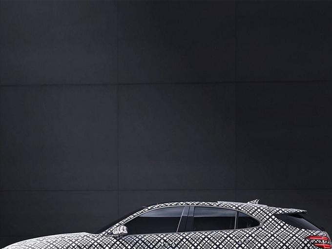 捷尼赛思G70新车型预告分体尾灯/配大尺寸扰流板-图1