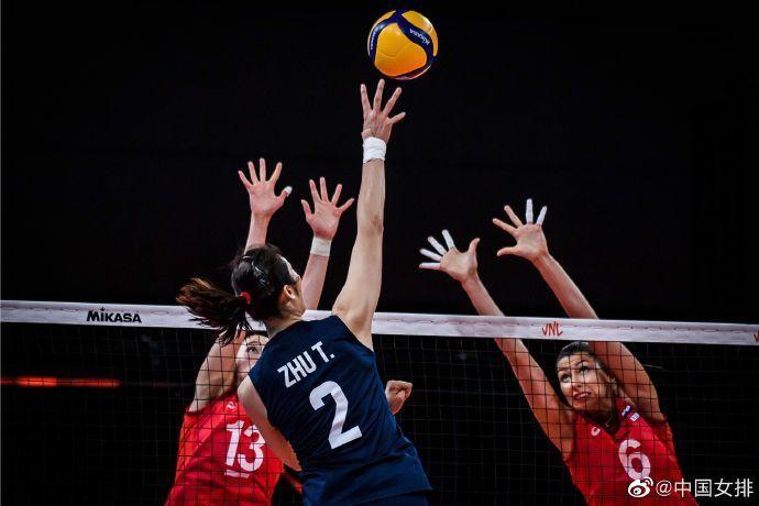 5连胜!中国女排3比0完胜俄罗斯