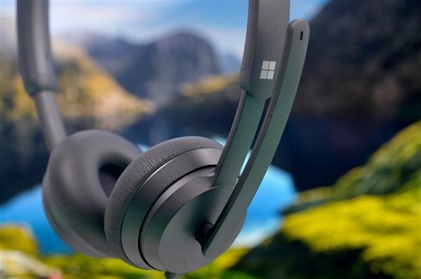降噪/音质有惊喜!微软时尚有线耳麦评测:线上会议神器