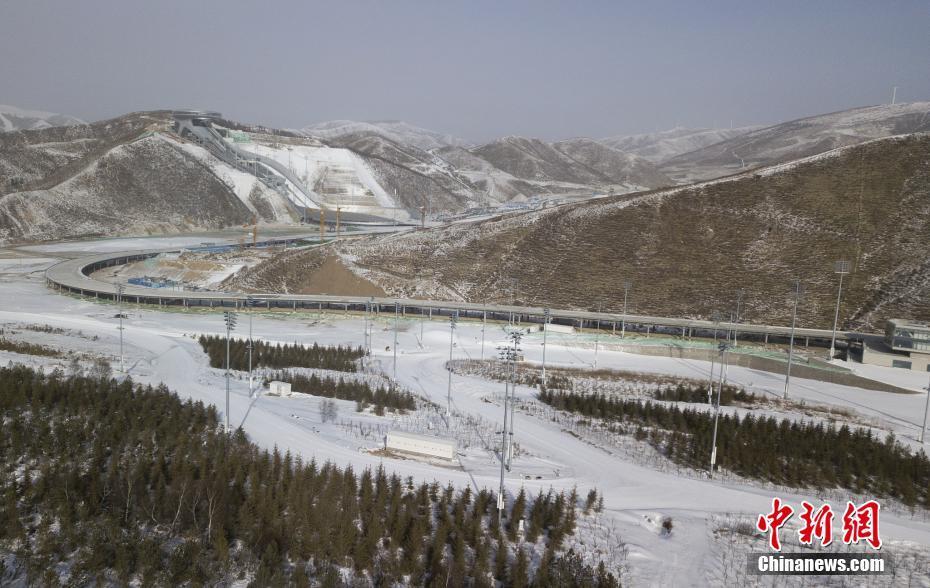 2021年2月1日,河北张家口,国家越野滑雪中心将产生2022冬奥会越野滑雪比赛的全部12枚金牌。图片来源:视觉中国