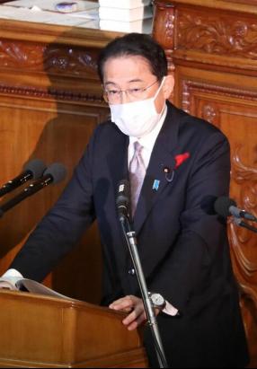 岸田文雄11日参加众院代表质询