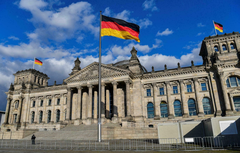 位于柏林的联邦议会大楼 资料图
