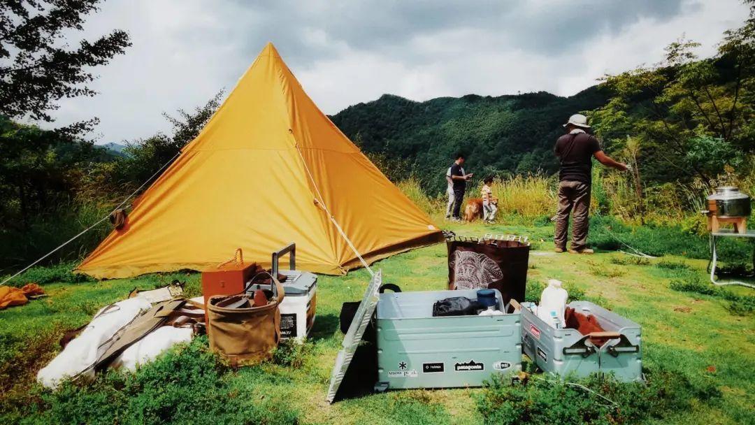 野外露营 / 受访者供图