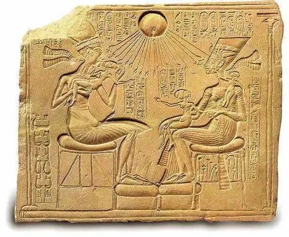 崇拜太阳的埃及人