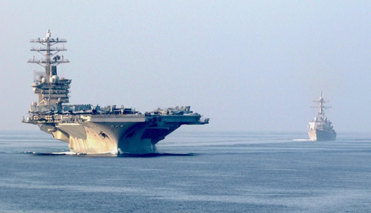 """美国海军""""尼米兹""""号航母"""