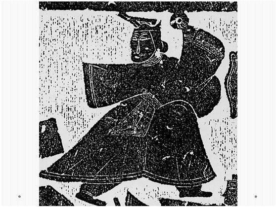 汉代武梁祠画像石拓片中的秦王