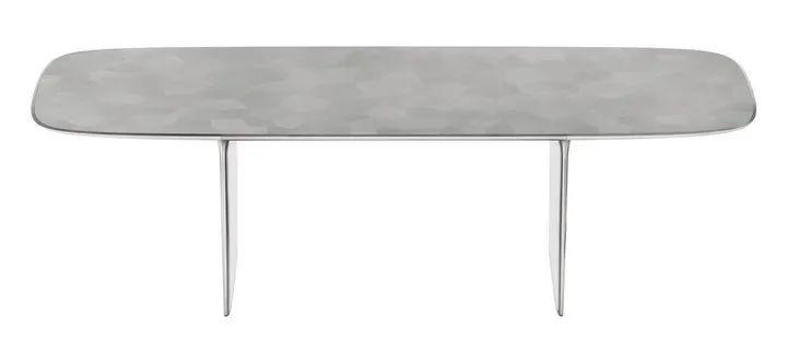 Marc Newson 和 Jony Ive 在 2013 年设计桌子