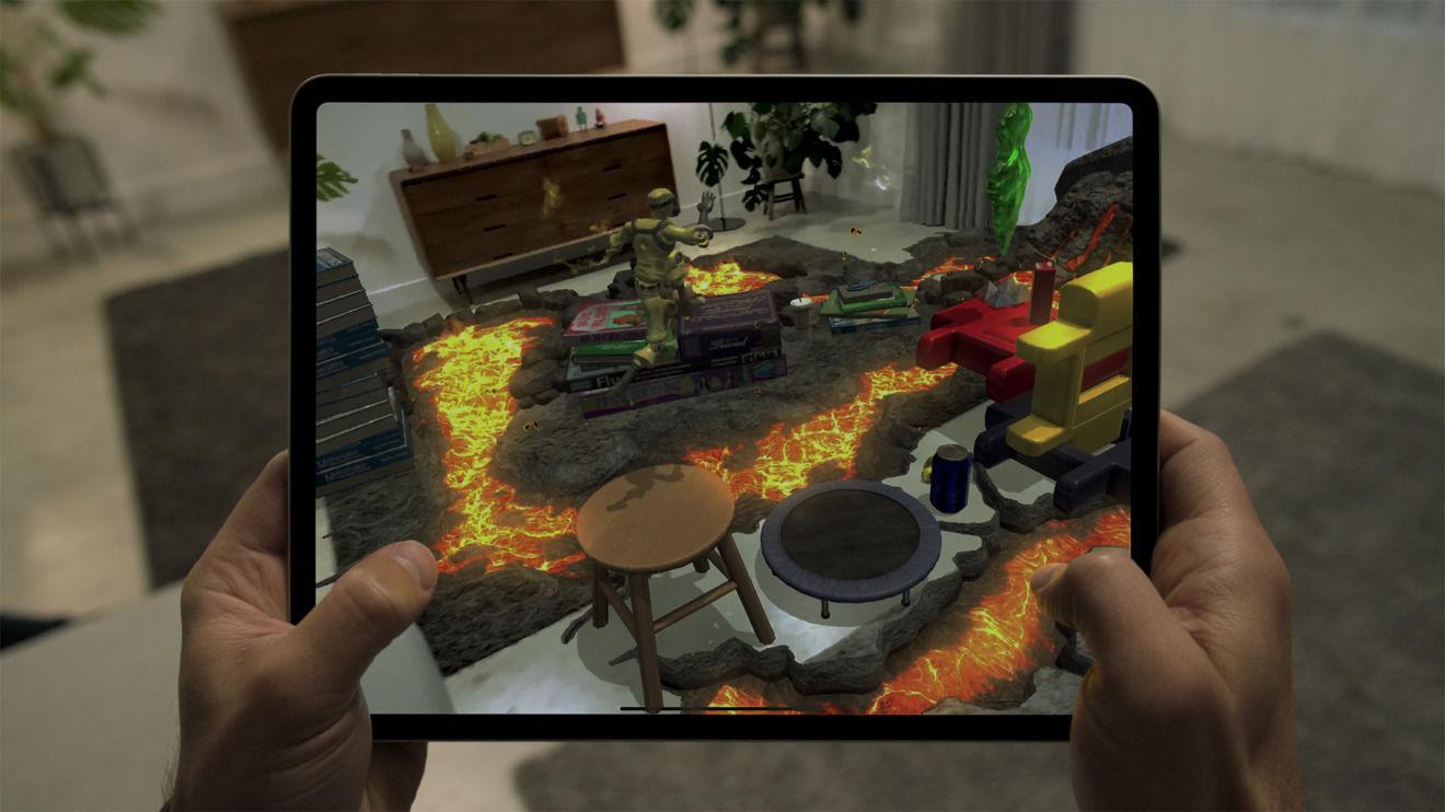 AR 游戏 Hot Lava|Apple