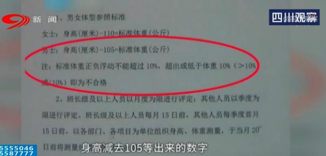 """河南小伙两年内因""""太胖""""被扣1万多工资,公司回应(图3)"""