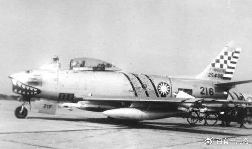 国军的F-86战斗机