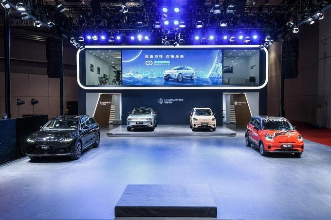 不惧科技企业造车新人零跑科技上海车展展示重磅武器-图1