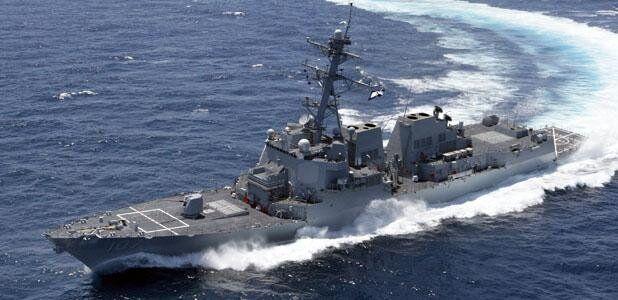 美国海军伯克级驱逐舰资料图