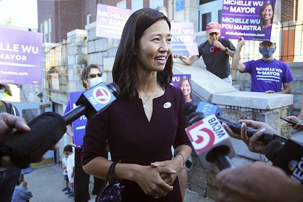 200多年來波士頓將首現女市長 華裔候選人吳弭初選領先