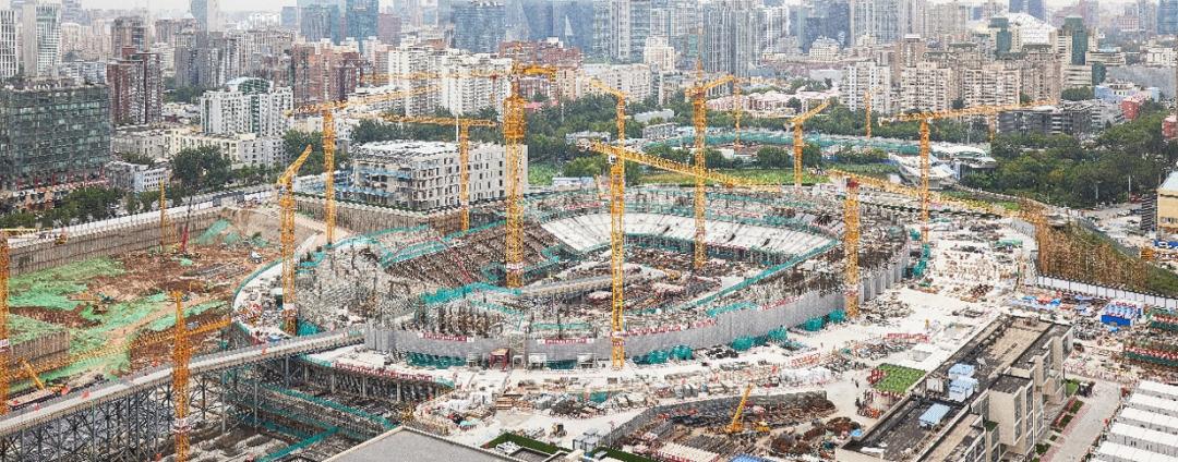 新工体预计将于2022年底交付使用