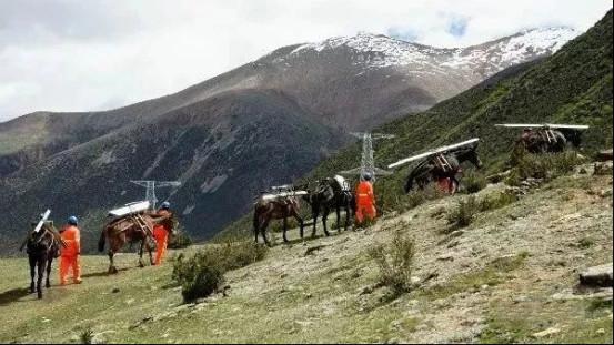 西藏高山地区通电