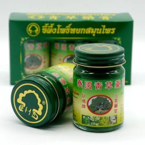 """(驱蚊止痒界新晋网红""""泰国青草膏"""")"""