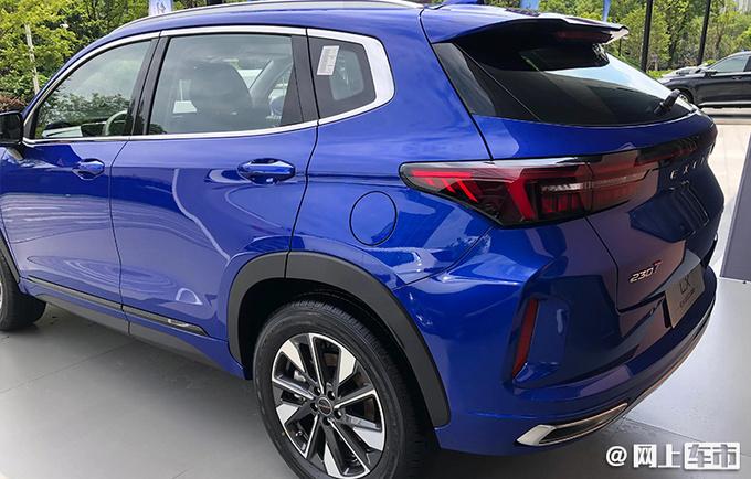 星途LX中文命名追风 将推新款车型 配置大升级-图4