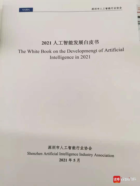 深圳聚集1300余家人工智能企业,全国位居第二