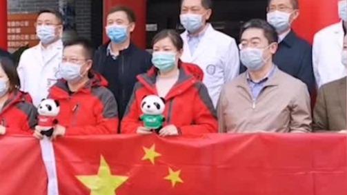 平安归来!中国抗疫专家组启程赴意大利