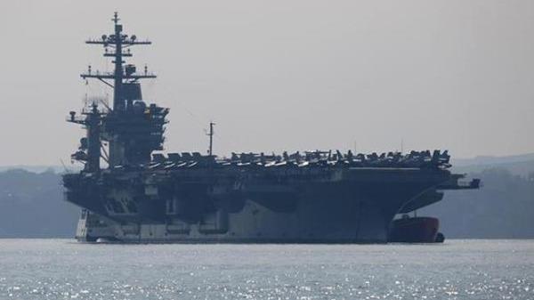 """美军""""罗斯福""""航母逾百人感染 舰长写信紧急求援"""
