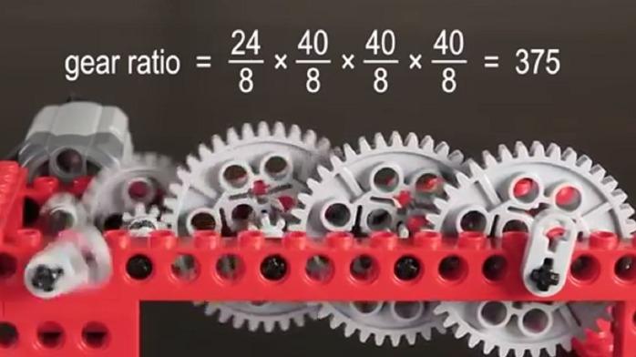 直观演示齿轮组是如何工作的,计算齿轮传动的齿轮比,涨知识了!