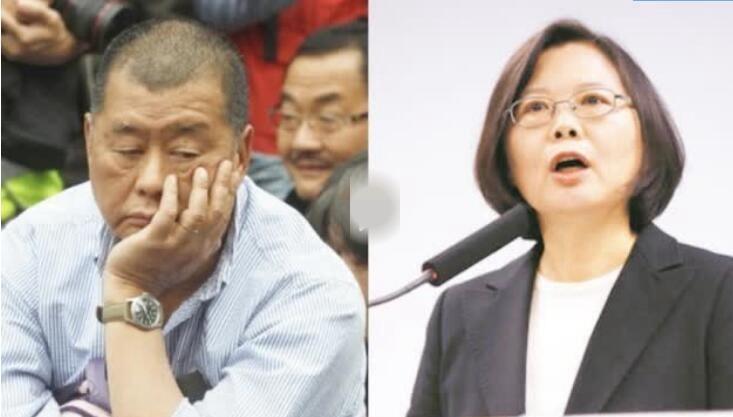 """黎智英走投无路 """"跪求""""蔡英文让港人移民台湾 岛内民众愤怒反击"""