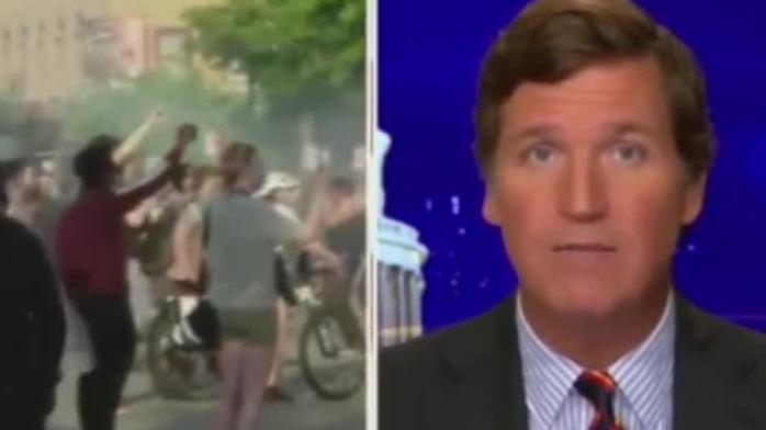"""福克斯主播批抗议示威是""""暴乱"""" 美国网友:双标"""