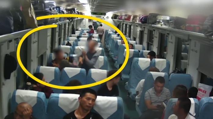 吃太饱了?火车上2男子因争论谁更了解东北大米互殴