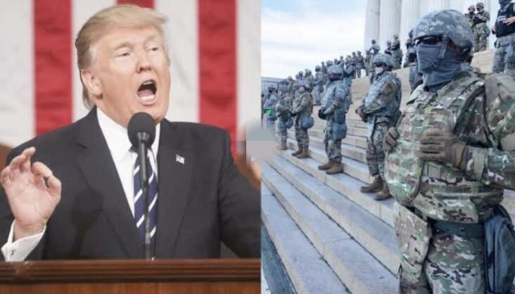 特朗普一番表态后 美军最精锐部队出动了
