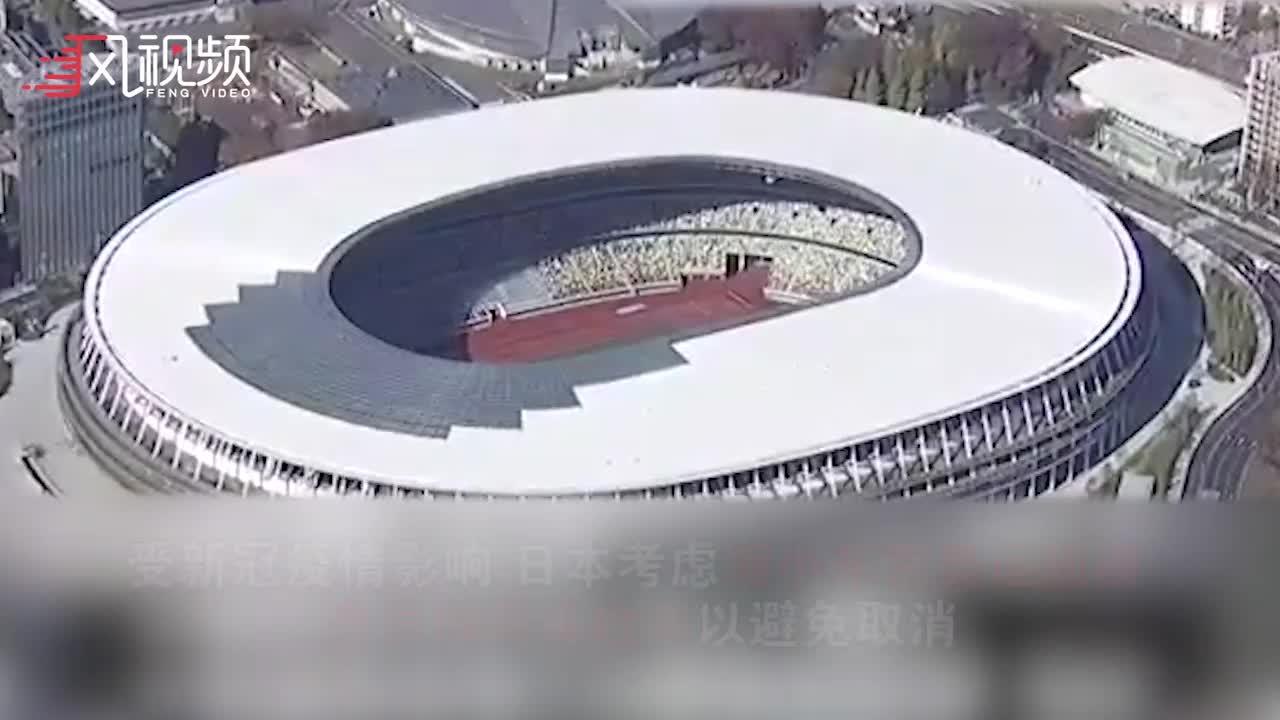 日本考虑缩小东京奥运规模,全员做病毒检测以避免取消