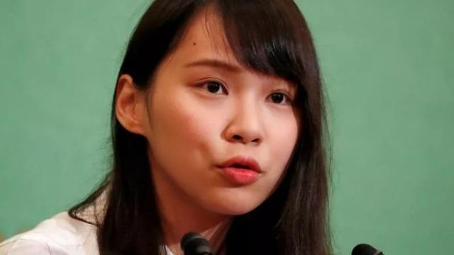 日本学府聘乱港分子周庭为研究员 网友:她大学没毕业