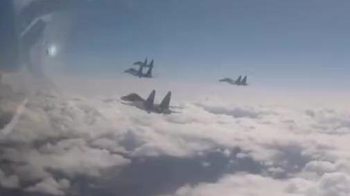 音频曝光!美军机接近中国台湾领空 遭中国海军航空兵双语驱离