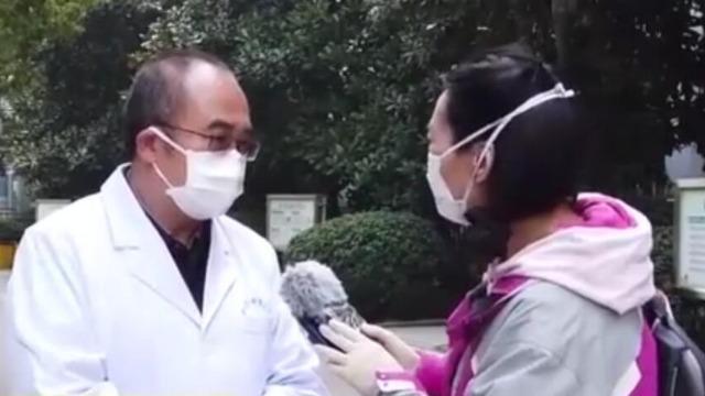 金银潭医院出院人数超过入院人数 出现床等人