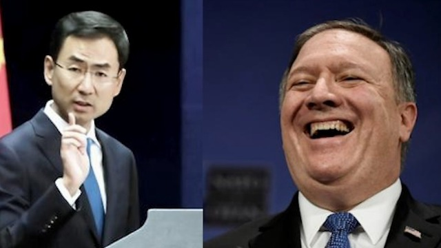 """蓬佩奥为美媒狂言中国是""""东亚病夫""""狡辩 中方强硬表态"""
