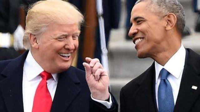 特朗普与奥巴马 成为年度最受美国国民崇拜人物