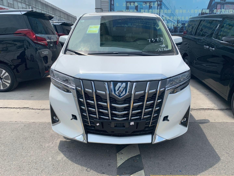 丰田埃尔法商务车价格埃尔法3.5多少钱