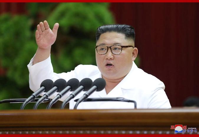 金正恩作7小時報告:朝鮮決定再次開展艱苦長久斗爭