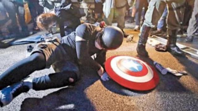 """大快人心!被捕的""""美国队长""""企图保释被香港法院拒绝"""
