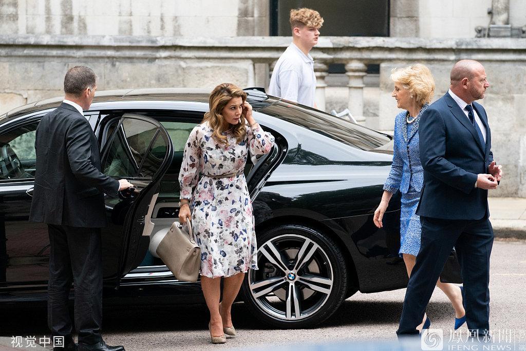 """迪拜""""逃跑王妃""""現身倫敦法院"""