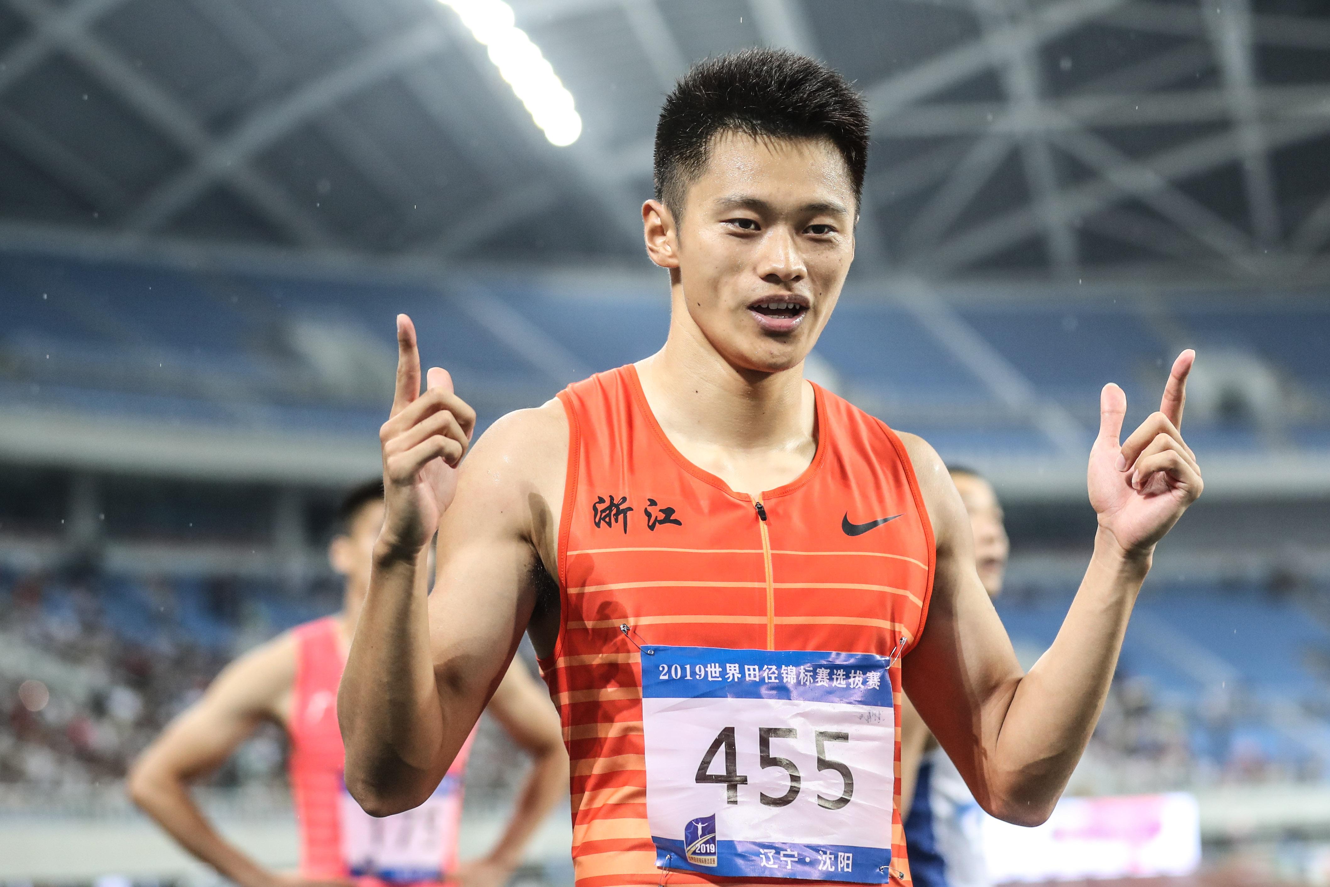 2019世界田径锦标赛选拔赛首日:吕会会再破亚洲纪录谢震业逆袭苏炳添