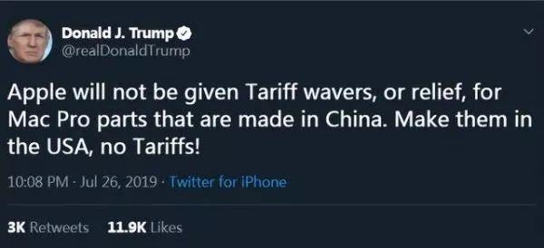 """为逼苹果回归""""美国制造"""" 特朗普放了狠话(组图)"""