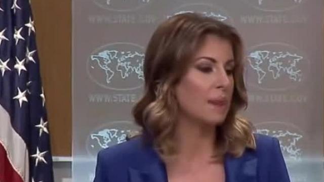 """认账了!美国务院发言人承认外交官会见""""港独""""头目"""