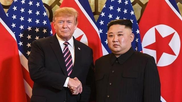 特朗普称金正恩为试射导弹道歉 朝媒公布6张照片打脸